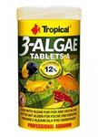 Tropical - 3-Algae Tablets A - 250 ml/150 g/340 buc