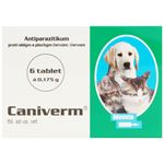 Caniverm 0,175 g - 6 tab