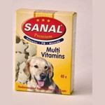 Sanal Dog - Multi Vitamins- 40 tab