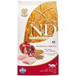 N&D Cat Adult Low Grain - Pui si rodie - 5 kg