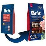 Brit Premium by Nature Adult L - 15 kg