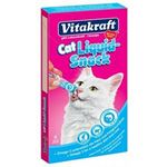 Vitakraft - Snacks Liquid somon/omega 3 - 6 x 15 g