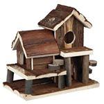 Trixie - Casuta din lemn natural 25 x 24 x 16 cm - 61779
