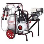 Aparat muls vaci 1 post motor benzina canistra aluminiu 30 l - 4005
