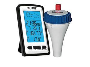 Hobby - Termometru iaz wireless cu statie meteo si alerte