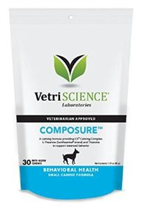Composure Small Dog Bite-sized Chews 30 tab
