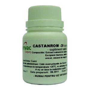 Romvac - Castanrom - 20 tab