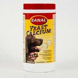 Sanal Dog - Yeast calcium - 600 g