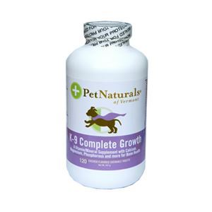 Pet Naturals - K-9 Complete Growth - 120 tab