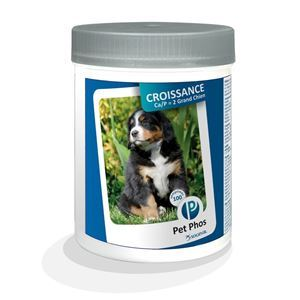 Sogeval - Pet Phos Croissance Ca/P-2 Grand Chien - 100 tab