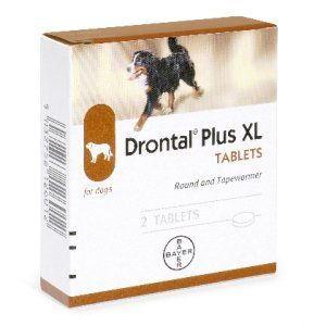 Drontal Plus XL - 2 tab