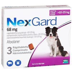 NexGard L (10-25 kg) - 3 tab