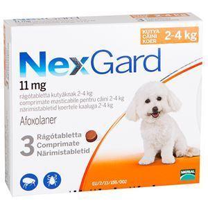 NexGard S (2-4 kg) - 3 tab