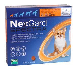 NexGard XS (2-3,5 kg) - 3 tab