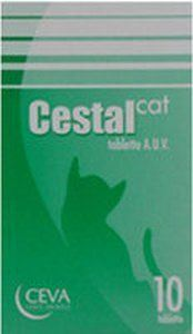 Ceva Sante - Cestal Cat - 10 tab
