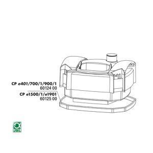 JBL - CristalProfi e401/700/701/900/901 Garnitura capac / 6012400